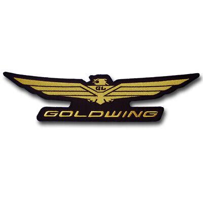 4.00x12.50 cm.x1 pc honda wing racing big bike embroidery iron on sew patch badge applique apparel garment fabric