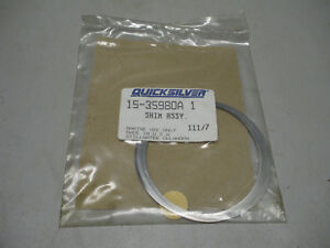 Part 15-32563A 1. Mercury Quicksilver Shim Assy