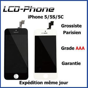 VITRE-TACTILE-IPHONE-5S-5C-5-ECRAN-LCD-SUR-CHASSIS-Grade-AAA-PRIX-EN-GROS