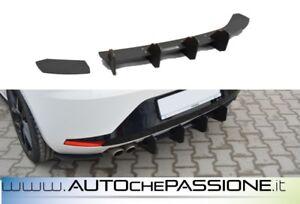 Estrattore splitter posteriore per Seat Leon 5F FR 2012>2016 diffusore