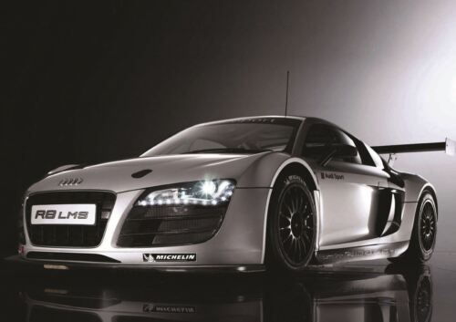 AUDI R8 LMS SPORTS RALLY CAR PRINT ART POSTER PICTURE A3 SIZE GZ1345