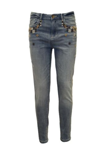 Slim Jeans LIGHT STONE New Women/'s SIMPLY JEANS Ankle length