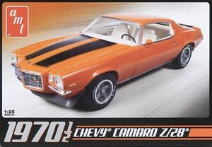 AMT-1970-1-2-Chevy-Camaro-Z28-1-25-scale-model-car-kit-new-635