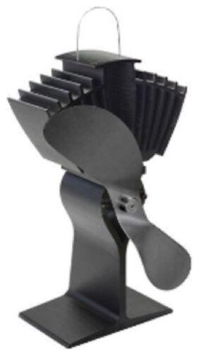Caframo ecofan airmax 812 Noir Woodburner Cuisinière Ventilateur véritable Caframo poêle à bois