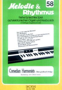 Comedian-Harmonists-Songbook-Noten-Keyboard-sehr-leicht