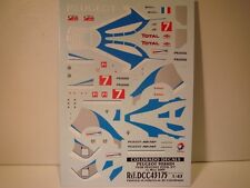 DECALS 1/43 PEUGEOT 908 HDI #7 LE MANS 2009  - COLORADO  43175