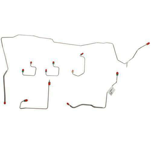 95-96 Jeep Grand Cherokee Front Brake Line Kit