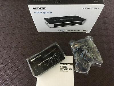 Pair & Go 2 Port HD 1080p HDMI Splitter