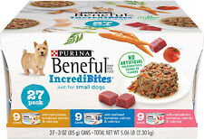 Purina Beneful IncrediBites for Small Dogs - 27 Pack
