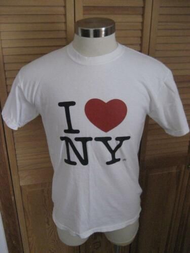 I Love NY White T Shirt M Mint