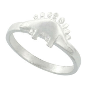 Sterling-Silver-High-Polished-Stegosaurus-Dinosaur-Ring