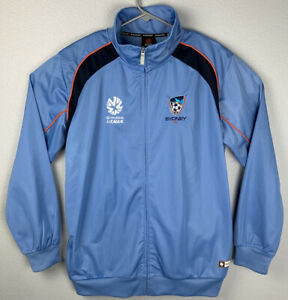 Sydney-FC-Hyundai-A-League-Full-Zip-Jacket-Blue-Mens-L-Large-NWT