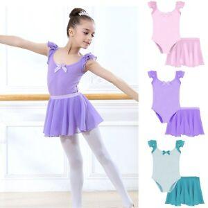 736f3f1125c2e Image is loading 2PCS-Kids-Baby-Girl-Gymnastics-Dancewear-Ballet-Leotard-