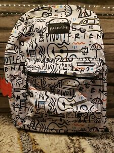 FRIENDS-Central-Perk-Printed-Back-To-School-16-034-Backpack-Friends-NEW