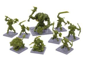Mantic-Games-Mazmorras-Saga-Green-Miniaturas-Rage-Set-Warhammer-Reyes-de-Guerra