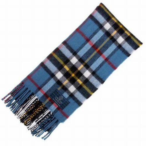 Nouveau long cou Fashion Thomson Bleu Tartan Scarf-écossais laine Clan écharpes