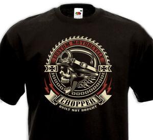 Tee-Shirt-CHOPPER-Custom-Motorcycle-Biker-Rider-Indian-Harley-Davidson