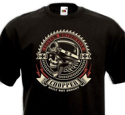 Street Chaîne Biker Shop T-Shirt Rider homme à manches longues