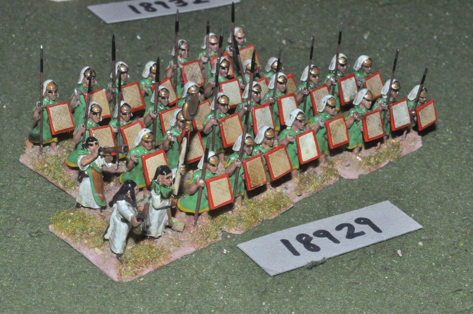 25mm biblical   hittite - warriors 32 figures - inf (18929)