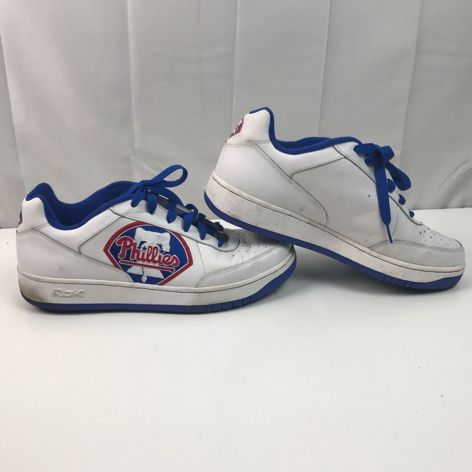 Vtg MLB Reebok Philadelphia Phillies Authentic Collection Tennis Shoes 11.5