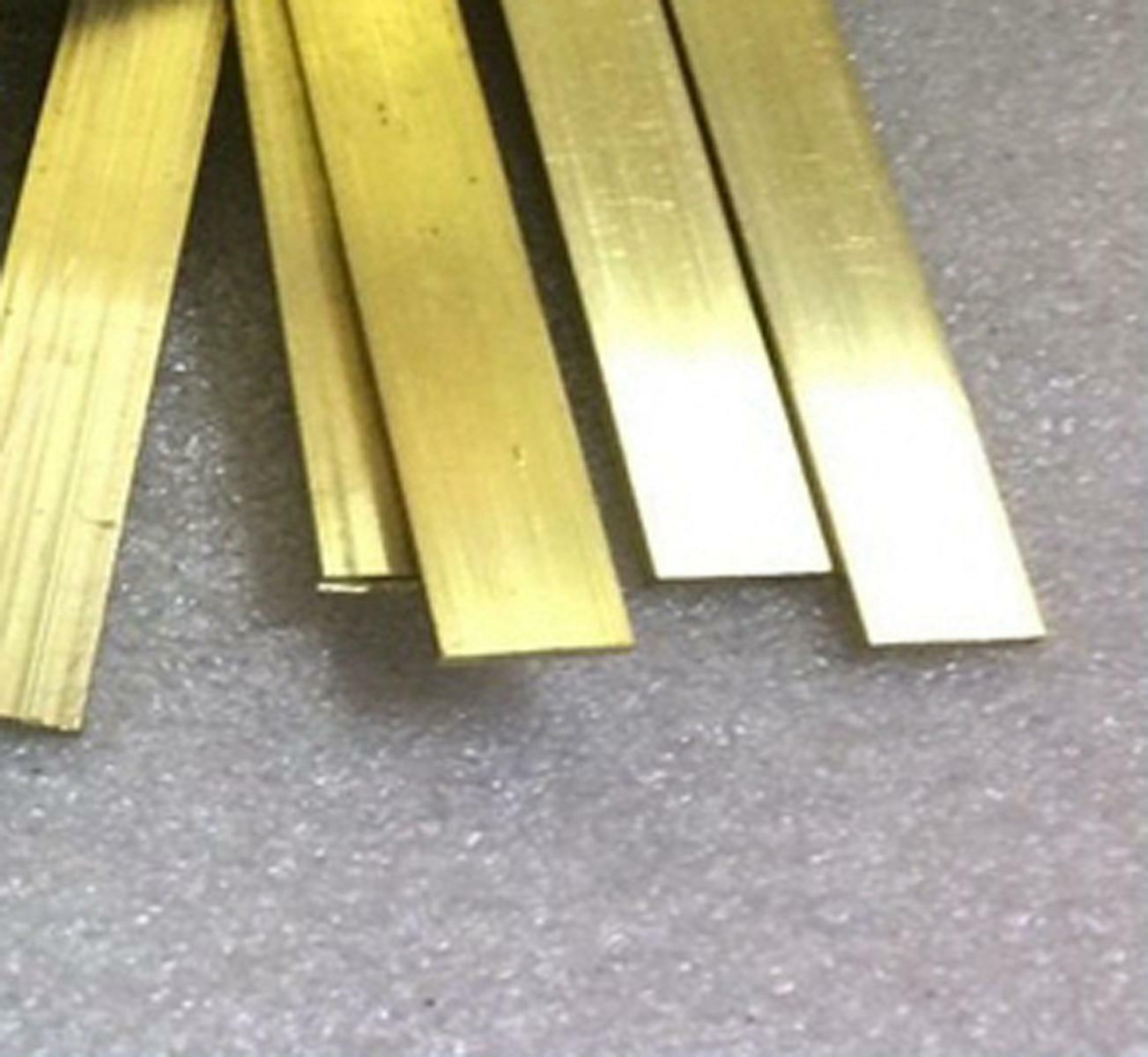 JumpingBolt Brass Sheet Plate .050 16 Gauge 3 x 3 Material May Have Surface Scratches