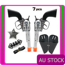 CAP GUN TOY /& 144 RING SHOTS revolver pistol kids costume cowboy cowgirl police