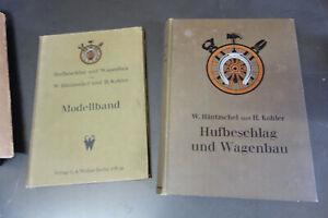 Fachbuch-Hufbeschlag-und-Wagenbau-1928-Stellmacher-Hufeisen-Schmied-Raeder