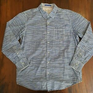 Tommy-Bahama-Jeans-Premium-Dress-Casual-Shirt-Men-039-s-Size-M-Island-Crafted-USA