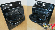 2010-2017 DODGE RAM 2500, 3500 MOPAR M FRONT TOW HOOKS SET OF 2 BLACK OEM