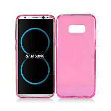 Samsung Galaxy S8 / S8 PLUS Frosted TPU CANDY Gel Flexi Skin Case Phone Cover