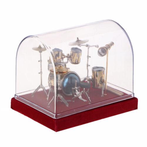 Miniatur Schlagzeug Set nur Für Dekoration Geburtstagsfeiertags Geschenk