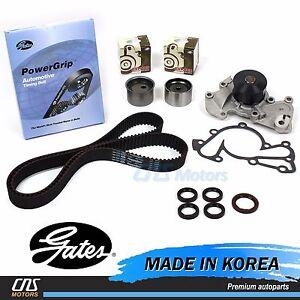 New Hyundai Kia 2.5L 2.7L Timing Belt Kit V-Belt Hydraulic Tensioner Water Pump