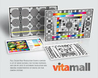 Complete Set Of High Resolution Test Charts For Linhof Lens & Camera By Vitamall