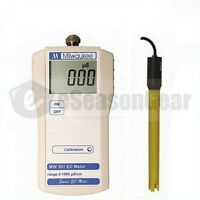 Milwaukee Mw301 Ec Conductivity Portable Meter/tester/sm301, 0 –1990 Μs/cm, Atc