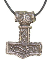 Butw Thors Hammer Necklace Norse Wicca Goth Norse 4930