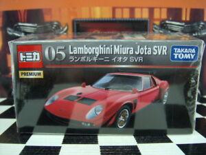 Contemporary Manufacture Tomica Premium 05 Lamborghini Miura Jota