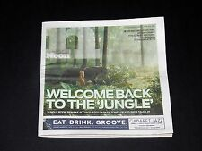Neon Magazine April 2016 Welcome Back To The Jungle Book Movie Preview Issue
