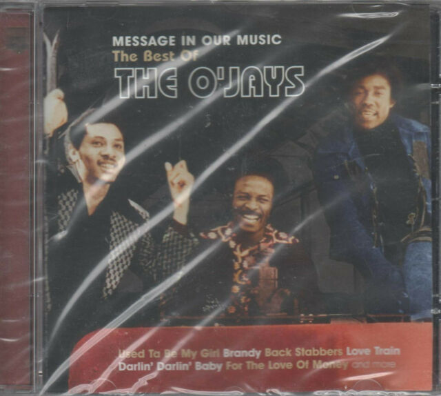 The Best Of The O'Jays Message In Our Music CD NEU Used Ta Be My Girl Brandy