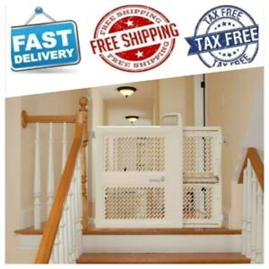 """Lock and Swing Gate Safety 1st Pressure Mount Lift Fits Spaces between 28/"""" and"""