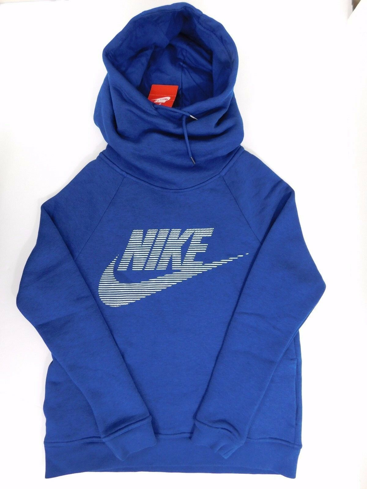 NEW WOMEN'S NIKE SPORT & CASUAL NAVY blueE HOODIE SIZE US M & S  807292423