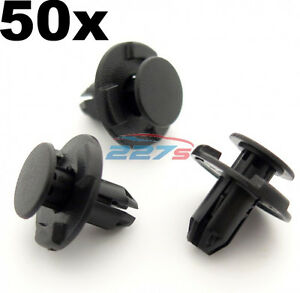 50x-8mm-Hole-Wheel-Arch-Liner-Clips-Plastic-Trim-Clips-for-Inner-Wing-Subaru
