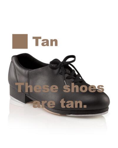 Vintage Capezio CG09 Women/'s 7.5M fits 6.5 Tan Premiere Tap Lace Up Tap Shoes