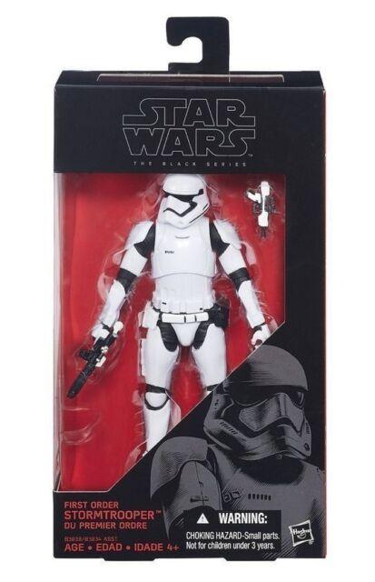Star Wars The Force Awakens Black Series  STORM TROOPER NIB