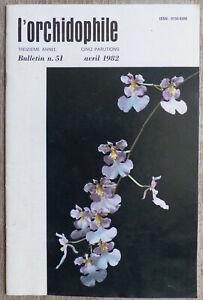 L-039-Orchidophile-Bulletin-N-51-Avril-1982