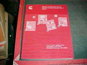cummins qsx 15 operation and maintenance manual