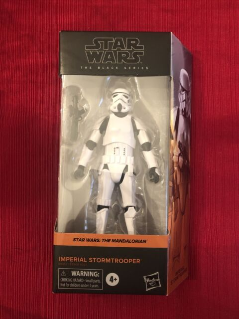 STAR WARS The Black Series IMPERIAL STORMTROOPER The Mandalorian NEW In Hand 🔥