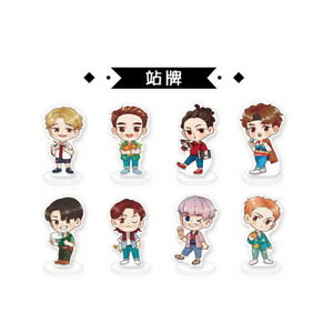 Kpop-EXO-4th-Album-THE-WAR-Q-edition-Acrylic-Standing-Figure-doll-standee
