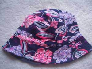BNWT Baby Girl s Bonds Floral Cotton Knit Summer Hat Size M ... 049774d336f8