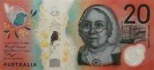 FIRST-Prefix-AA19-20-Australia-New-Gen-2019-Banknotes-UNCIRCULATED