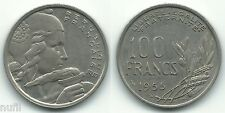 FRANCIA France 100 Francs 1955 B KM# 919  Ø 24 mm.